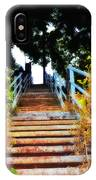 Manayunk Steps IPhone Case