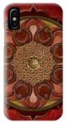 Mandala Flames Sp IPhone Case