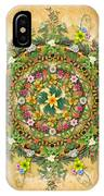 Mandala Flora IPhone Case