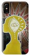 Mandala Mohawk  IPhone Case