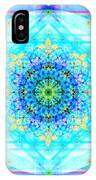 Mandala Of Womans Spiritual Genesis IPhone Case