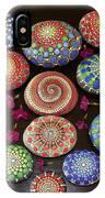 Mandala Stones Heart IPhone Case