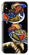 Mandarin Ducks - Sa106 IPhone Case