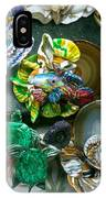 Mandarin Goby Hanging With Emerald Turtles IPhone Case
