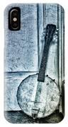 Mandolin Banjo In The Corner IPhone Case