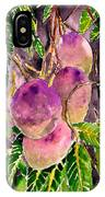 Mango Tree Fruit IPhone Case