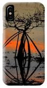 Mangrove Silhouette IPhone Case