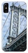 Manhattan Bridge 4 IPhone Case