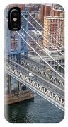 Manhattan Bridge  6413  IPhone Case