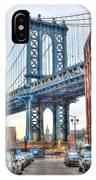 Manhattan Bridge Landscape From Dumbo IPhone Case