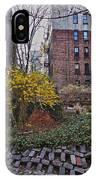 Manhattan Community Garden IPhone Case