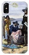 Manhattan Purchase, 1626 IPhone Case