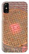 Manhole Mandala IPhone Case