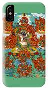 Maning Mahakala With Retinue IPhone Case