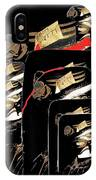 Mannequin Collage Jerome Arizona 1968-2013 IPhone Case