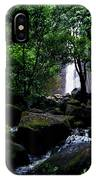 Manoa Falls Stream IPhone Case