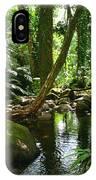 Manoa Valley Stream IPhone Case