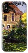 Manor House Steps IPhone Case