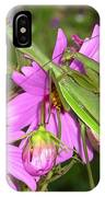 Mantis Mates In The Cosmos IPhone Case