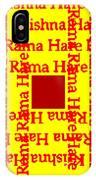 Mantra Block IPhone Case