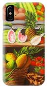 Manuel And His Fruit Stand IPhone Case