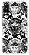 Many Buddhas 2 IPhone Case