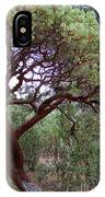 Manzanita Tree By The Road IPhone Case