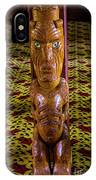 Maori Greeter IPhone Case
