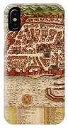 Map Of Algiers 1541 IPhone Case