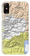 Map Of Andorra IPhone Case