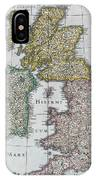 Map Of Britain IPhone Case