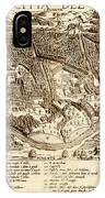 Map Of Cairo 1575 IPhone Case