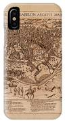 Map Of Cairo 1600 IPhone Case