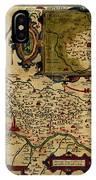 Map Of Cremona 1579 IPhone Case