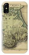 Map Of Crimea 1815 IPhone Case