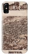 Map Of Dover 1885 IPhone Case