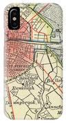 Map Of Dublin IPhone Case