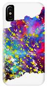 Map Of Hungary-colorful IPhone Case