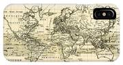 Map Of The World Using The Mercator Projection IPhone Case