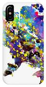 Map Of Ukraine-colorful IPhone Case