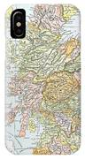 Map: Scotland IPhone Case