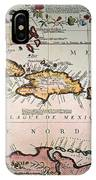 Map: West Indies IPhone Case