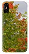 Maple Aflame IPhone Case