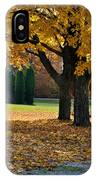 Maple And Arborvitae IPhone Case