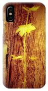 Maple Branch Growing From Trunk IPhone Case