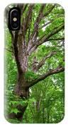Maple Hand IPhone Case