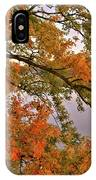 Maple Over The River IPhone Case