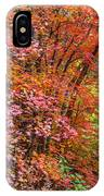 Maples In Pink IPhone Case