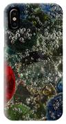 Marbles Clear Soda 2 IPhone Case
