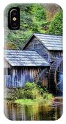 Mabry Mill A Blue Ridge Parkway Favorite IPhone Case by Ola Allen